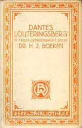 Dante's Louteringsberg in proza overgebracht