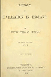History of Civilization in England, Vol. 1 of 3