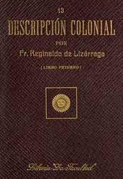 Descripción colonial, libro primero (1/2)