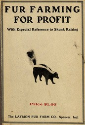 Fur Farming For Profit With Especial Reference to Skunk Raising
