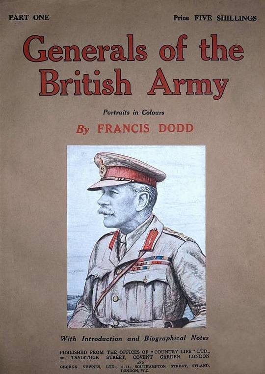 Generals of the British Army Portraits in Colour with Introductory and Biographical Notes