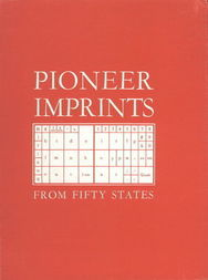 Pioneer Imprints From Fifty States
