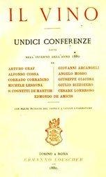 Il Vino Undici conferenze fatte nell'inverno dell'anno 1880