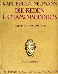 Die Reden Gotamo Buddhos Mittlere Sammlung, zweiter Band