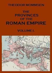 The Provinces of the Roman Empire, v. 1 From Caesar to Diocletian