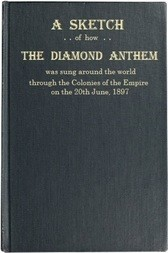 """A Sketch of how """"The Diamond Anthem"""" was Sung around the World The 60th Anniversary of the Accession Day of Her Majesty Queen Victoria"""