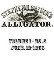 Stephen H. Branch's Alligator Vol. 8 no. 2, June 12, 1858
