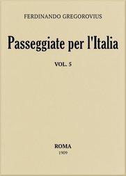 Passeggiate per l'Italia, vol. 5