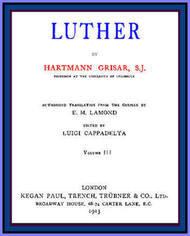 Luther, Volume 3 (of 6)