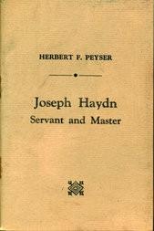 Joseph Haydn Servant and Master