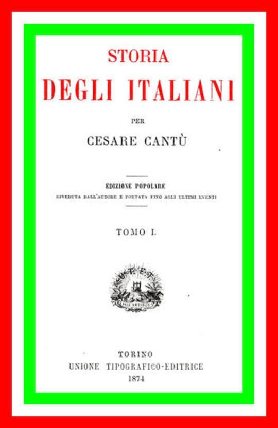 Storia degli Italiani (vol 1 di 15)