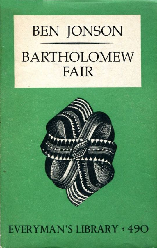 Bartholomew Fair A Comedy