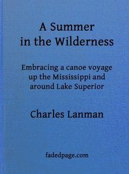 A Summer in the Wilderness embracing a canoe voyage up the Mississippi and around Lake Superior
