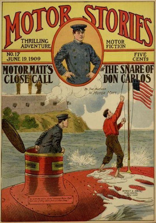 Motor Matt's Close Call or, The Snare of Don Carlos