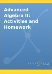 Advanced Algebra II: Activities and Homework