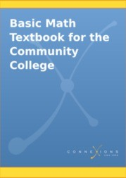 Basic Math Textbook for the Community College
