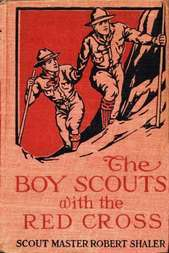 The Boy Scouts with the Red Cross