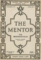 The Mentor: The Mediterranean, Vol. 1, Num. 39, Serial No. 39, November 10, 1913