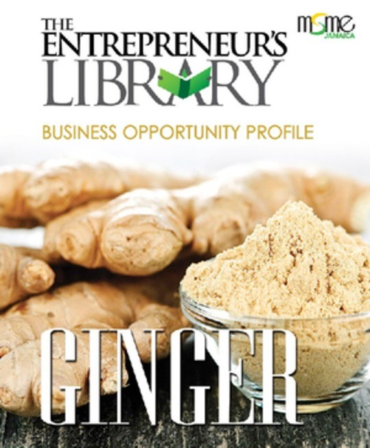The Entrepreneur's Library  - Business Opportunity Profile:  Ginger
