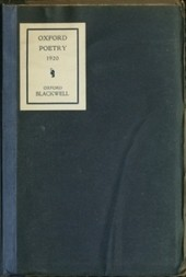 Oxford Poetry 1920