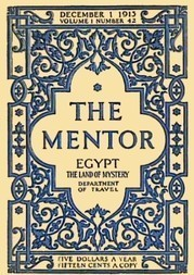The Mentor: Egypt, The Land of Mystery, Serial No. 42