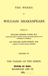 The Works of William Shakespeare - Cambridge Edition (3 of 9) (1863)