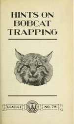 Hints on Bobcat Trapping USDA Leaflet No. 78