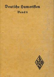 Deutsche Humoristen (Band 6) Humoristische Erzählungen