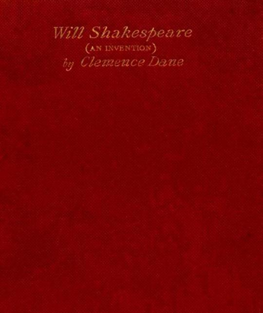 Will Shakespeare An Invention in Four Acts