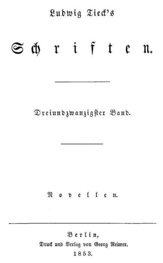 Schriften 23: Novellen 7 Eine Sommerreise / Die Wundersüchtigen / Pietro von Abano