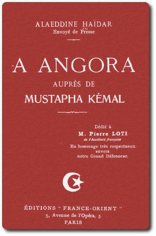 A Angora aupres de Mustafa Kemal