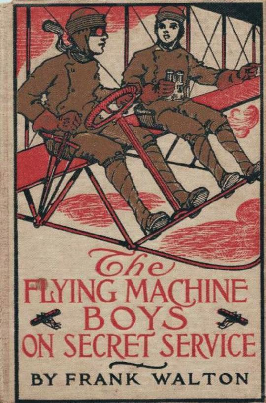 The Flying Machine Boys on Secret Service The Capture in the Air