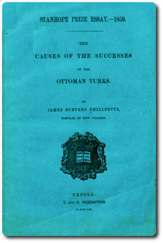 The Causes of the Successes of the Ottoman Turks