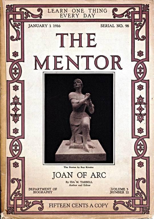 The Mentor: Joan of Arc, v. 3, Num. 22, Serial No. 98, January 1, 1916