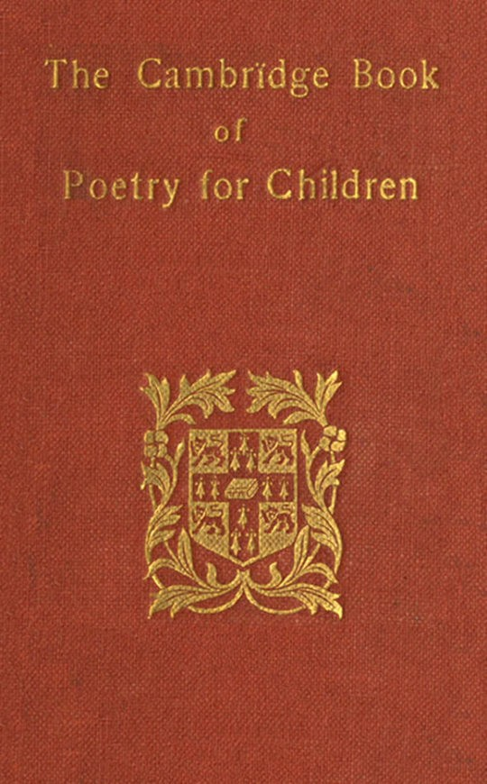 The Cambridge Book of Poetry for Children Parts 1 and 2