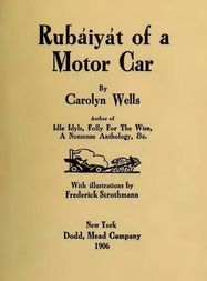 Rubáiyát of a Motor Car