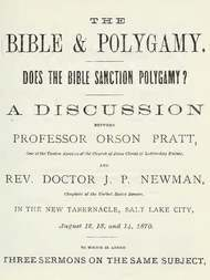 The Bible and Polygamy Does the Bible Sanction Polygamy?