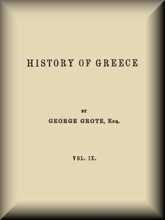 History of Greece, Volume 9 (of 12)