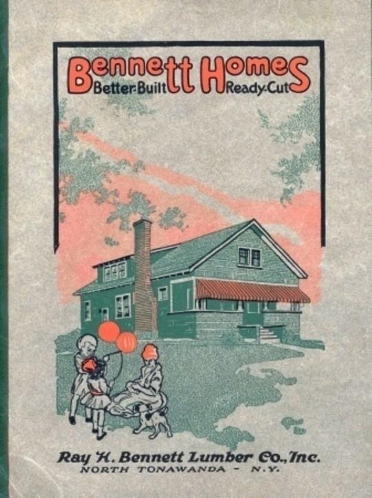 Bennett's Small House Catalog 1920