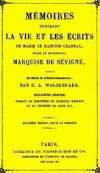 Mémoires touchant la vie et les écrits de Marie de Rabutin-Chantal, (2/6)