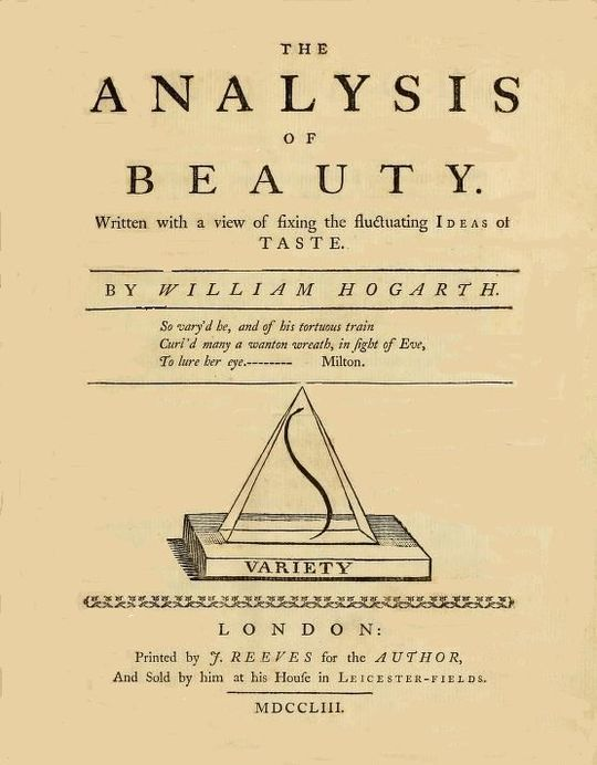 The Analysis of Beauty Written with a view of fixing the fluctuating ideas of taste