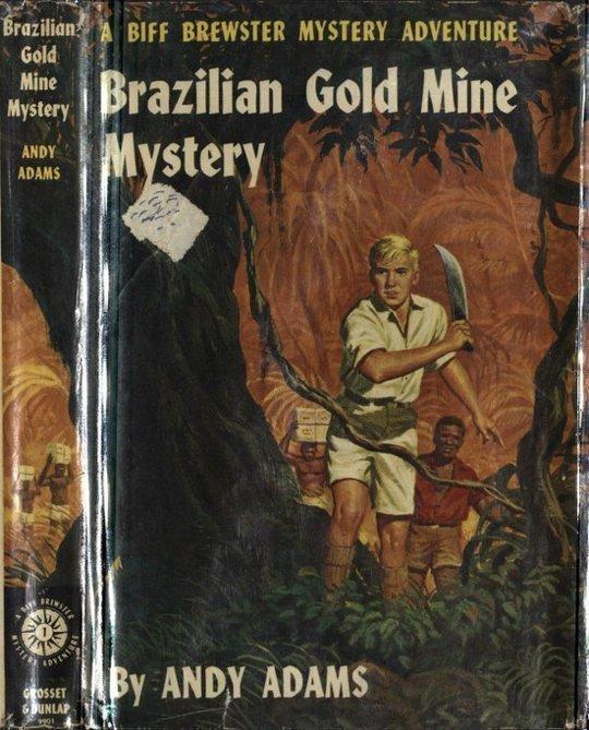 Brazilian Gold Mine Mystery A Biff Brewster Mystery Adventure