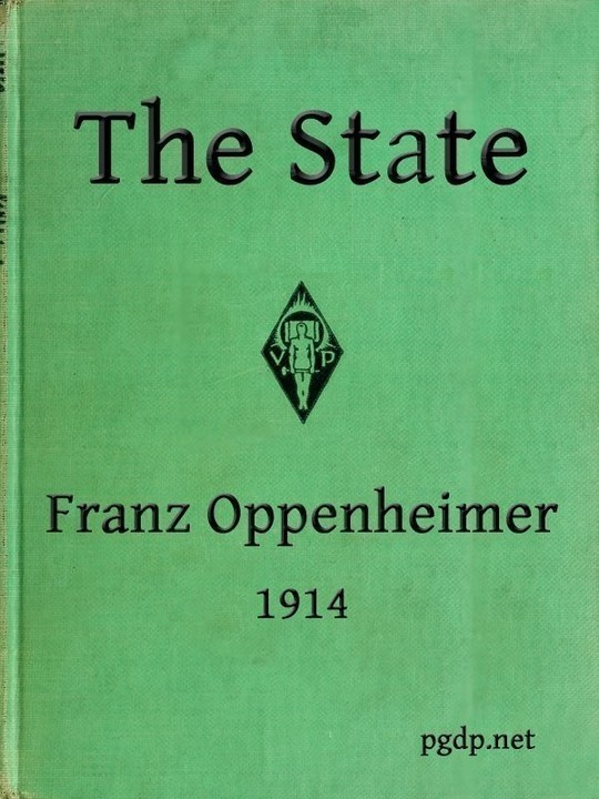 The State Its History and Development Viewed Sociologically