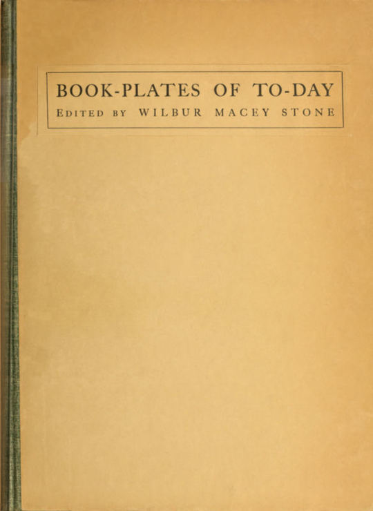 Book-plates of To-day