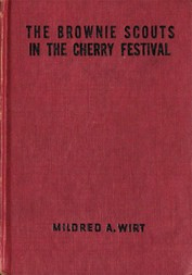 The Brownie Scouts in the Cherry Festival