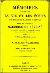 Mémoires touchant la vie et les écrits de Marie de Rabutin-Chantal, vol. 3/6