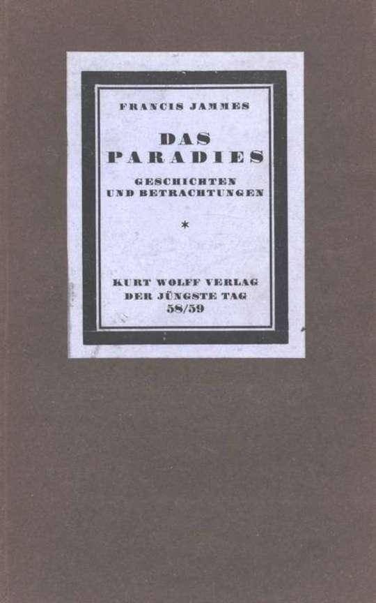 Das Paradies Geschichten und Betrachtungen