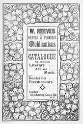 Catalogue of Works Literary Art and Music