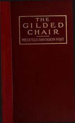The Gilded Chair A Novel