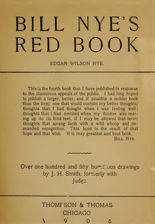 Bill Nye's Red Book New Edition